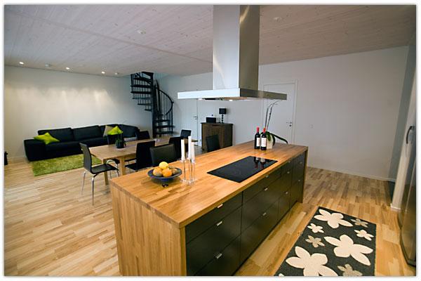 EML-Bygg : kök vardagsrum : Kök
